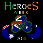 heroes week 2013 logo ireland first responders international worldwide event
